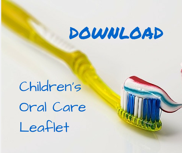 Children's Oral Care Leaflet