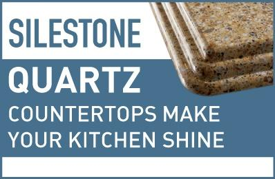 Silestone Quartz countertops make your kitchen shine