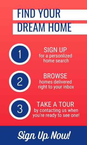 sign up for a personalized home search