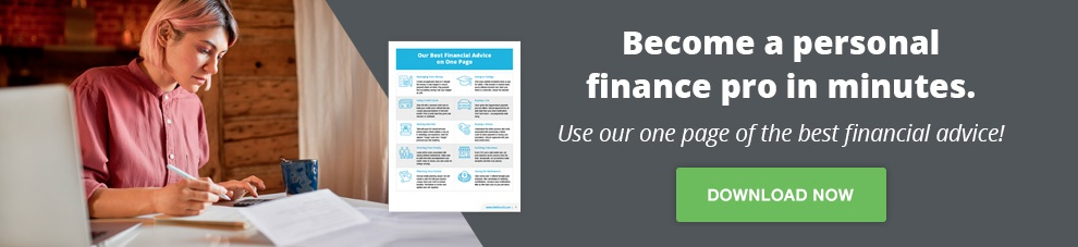 Our Best Financial Advice on One Page