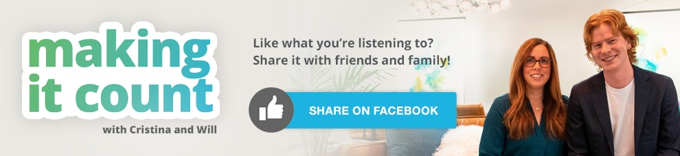 Share This Episode of Making it Count on Facebook