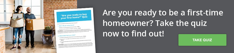 Take our first-time homeowner readiness quiz!