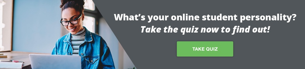 Take our Online Student Personality quiz!