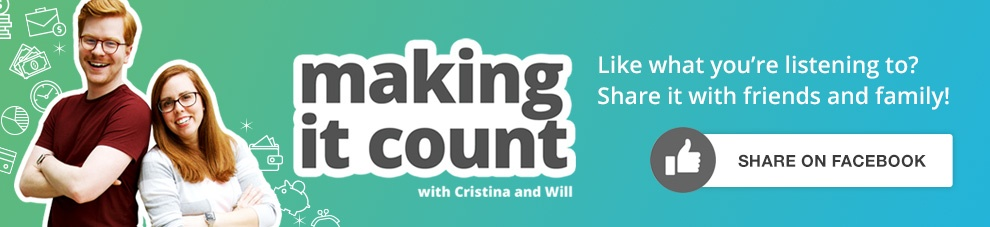 Share this episode of Making it Count on Faceboook!