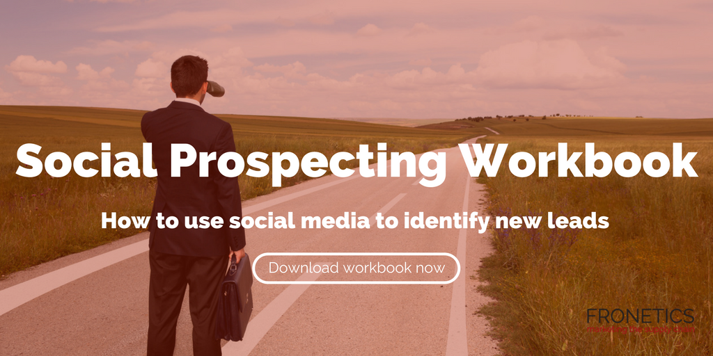 social prospecting workbook