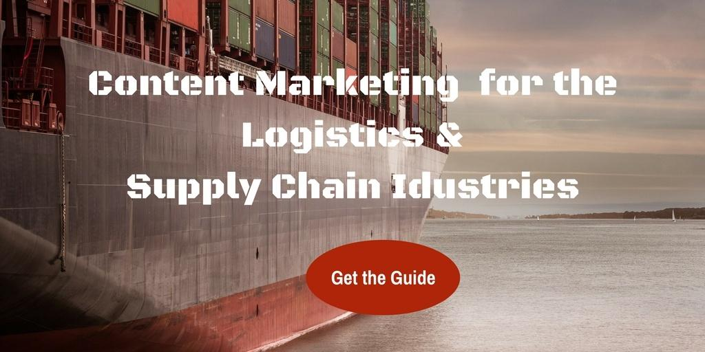 content marketing for the logistics and supply chain industries