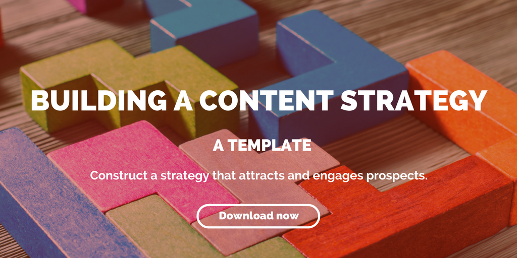 building a content strategy template