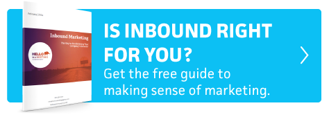 Is inbound right for you? Get the free guide to making sense of marketing.