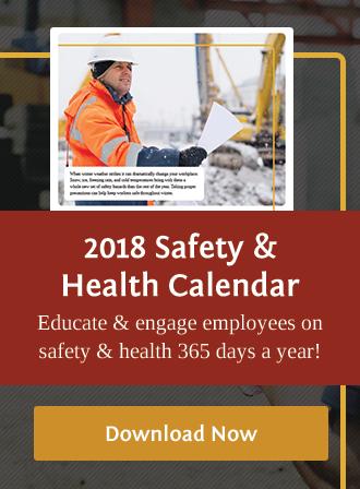 2018 Safety & Health Calendar