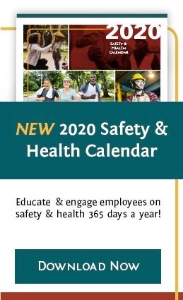 Download the 2020 Safety & Health Calendar
