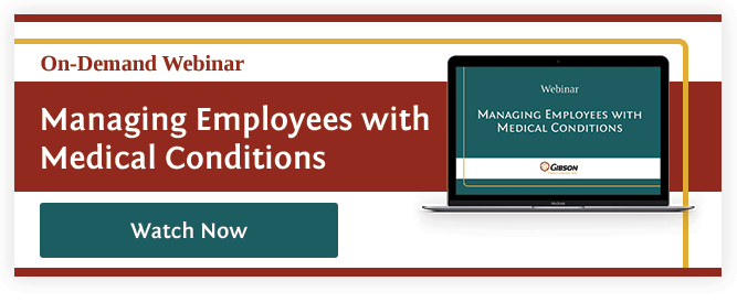 Managing Employees With Medical Conditions Webinar