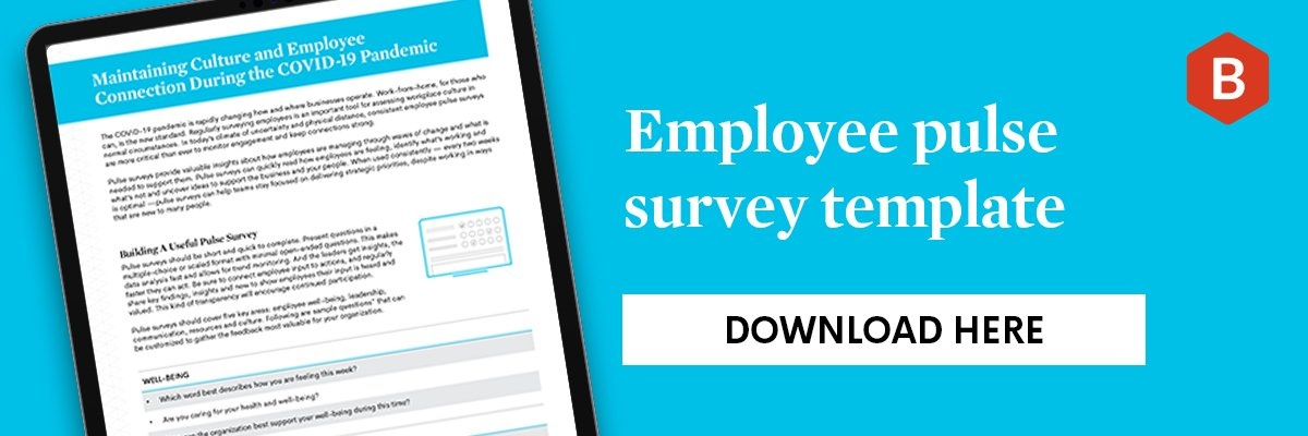 Download the employee pulse survey template here