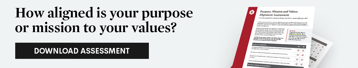 Download Purpose, Mission and Values Alignment Assessment