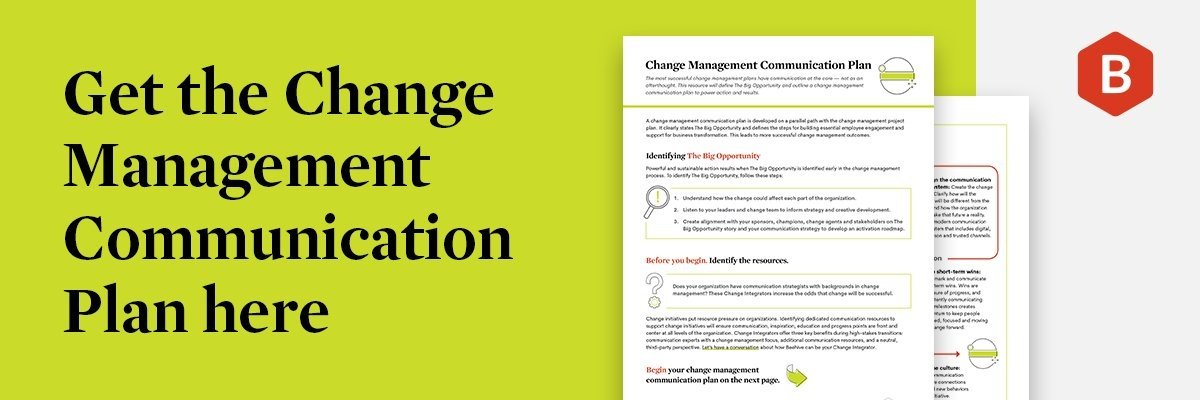 Change Management Communication Plan