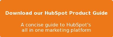 Download our HubSpot Product Guide  A concise guide to HubSpot's  all in one marketing platform