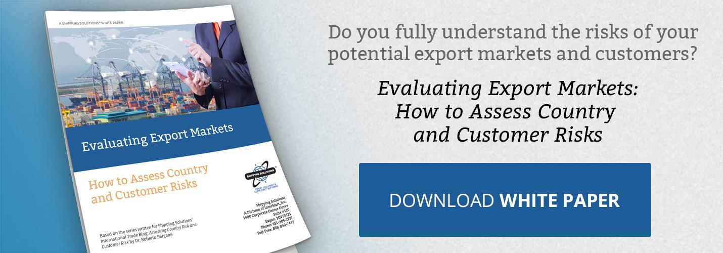 Download Evaluating Export Markets