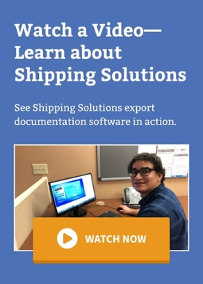 Shipping Solutions Demo Video