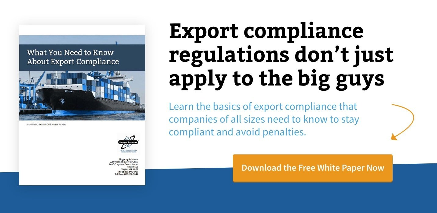 Download What You need to Know About Export Compliance White Paper