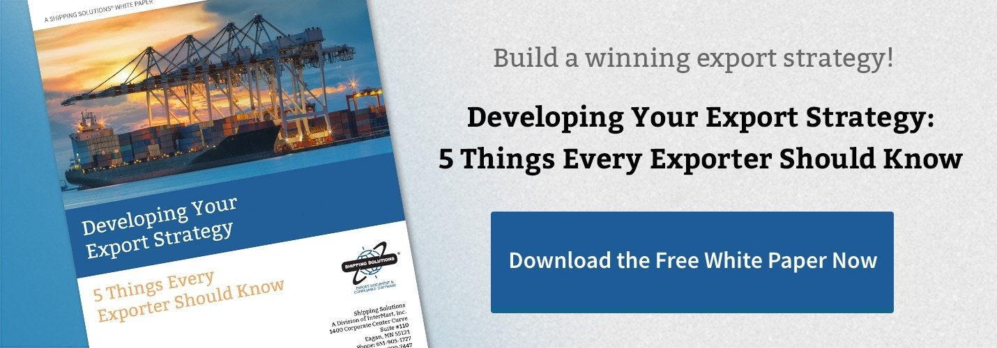 Download - Developing Your Export Strategy
