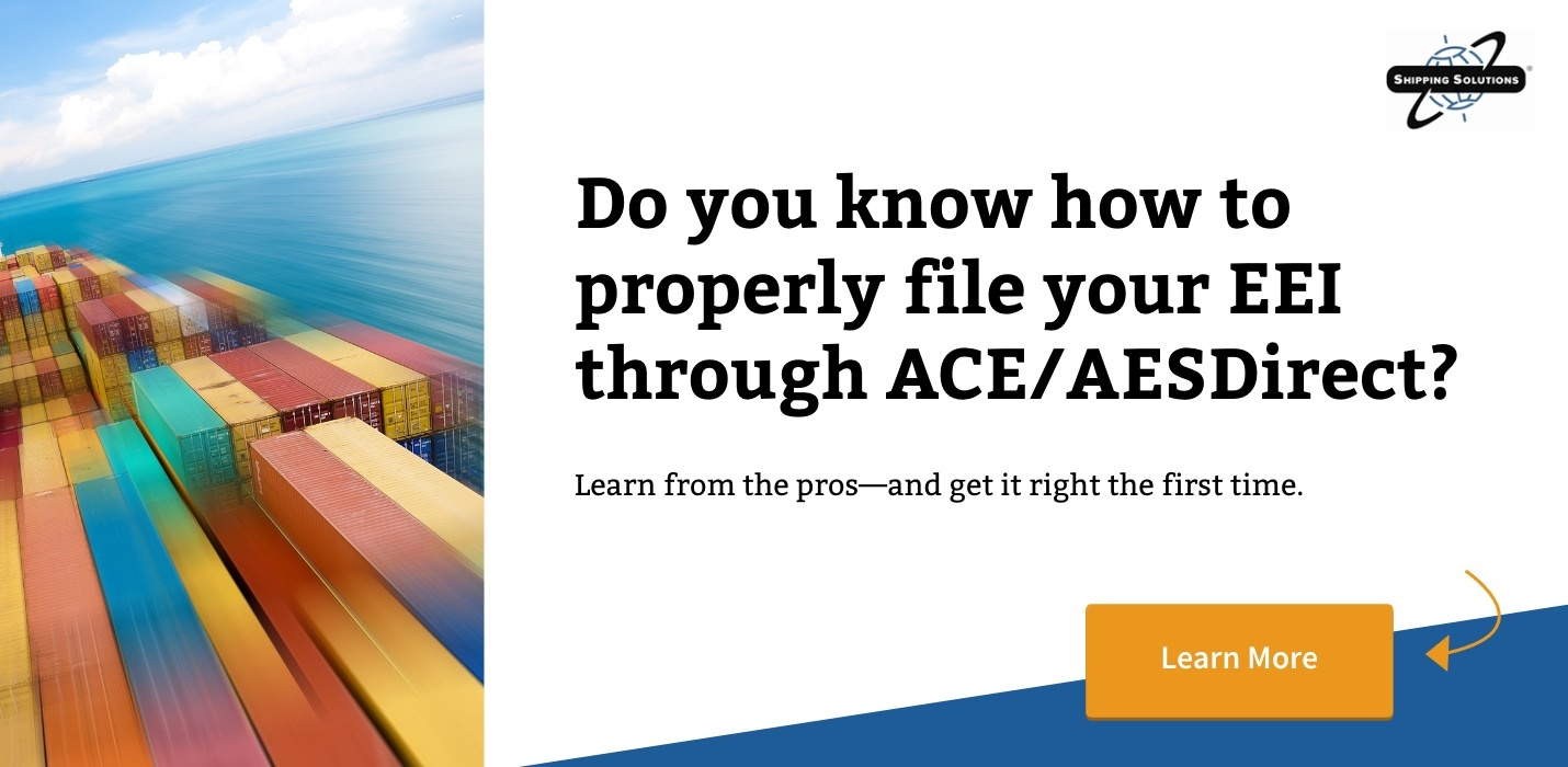 Watch Now: Filing Your Electronic Export Information through AESDirect