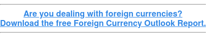 Are you dealing with foreign currencies? Download the free Foreign Currency Outlook Report.
