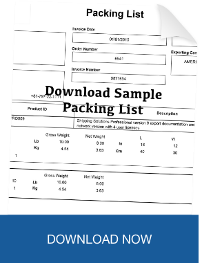 Download Sample Packing List