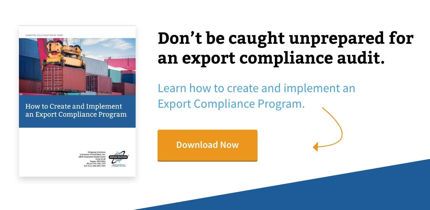 Download Whitepaper - How to Create and Implement an Export Compliance Program