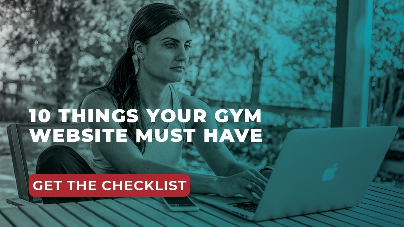 gym website checklist link