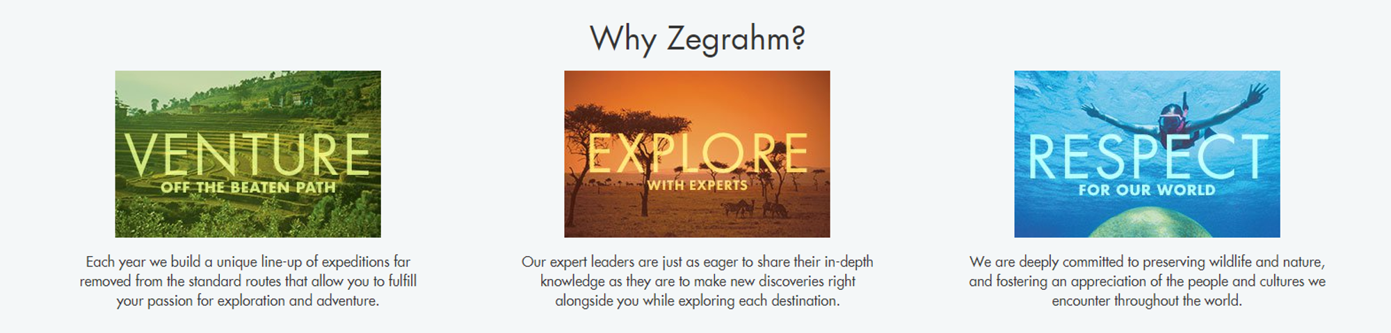 Why Should You Travel With Zegrahm Expeditions?