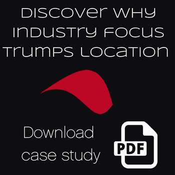 Industry focus trumps agency location case study