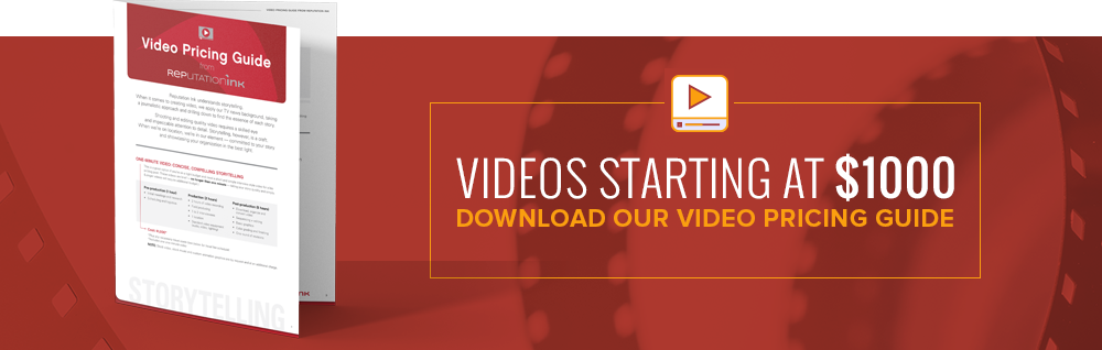 Download our Video Pricing Guide