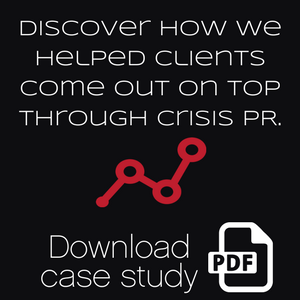 Managing a crisis case study