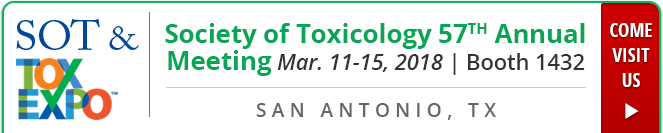 Join us at the Society of Toxicology 57th Annual Meeting
