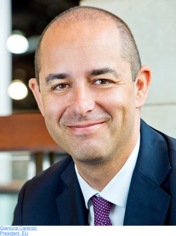 Gianluca Carenzo  President, EU