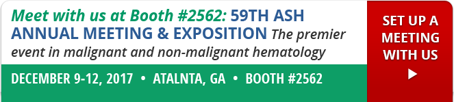 Meet with us at Booth #2562: 59th Ash Annual Meeting and Exposition, December 9-12, 2017