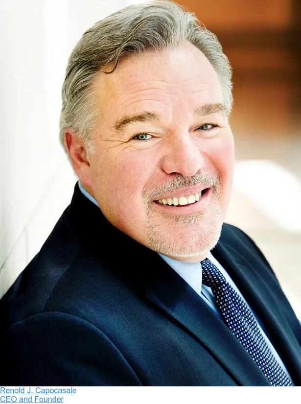 Renold J. Capocasale  CEO and Founder