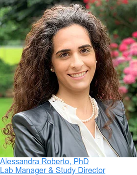 Alessandra Roberto, PhD  Lab Manager & Study Director