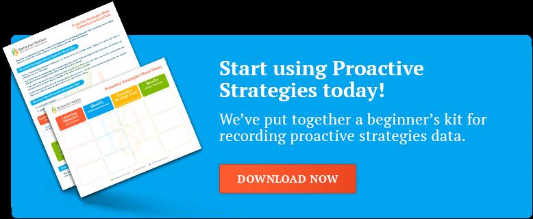 Download our Proactive Strategies ABA Beginner's Kit