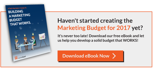 Download eBook for building a marketing budget that works