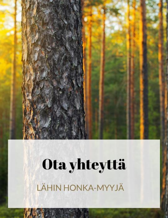 LÄHIN HONKA-MYYJÄ