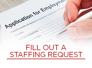 Staffing Request with MedSource Consultants