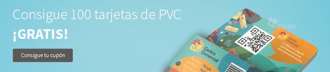 Promocion 100 tarjetas PVC
