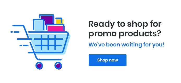 Ready to shop for promo products? We've been waiting for you!