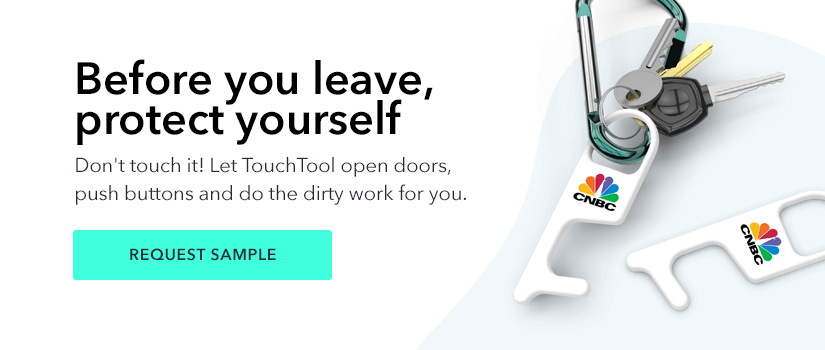 Before you leave, protect yourself - TouchTool