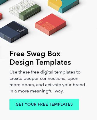 free swag box design templates