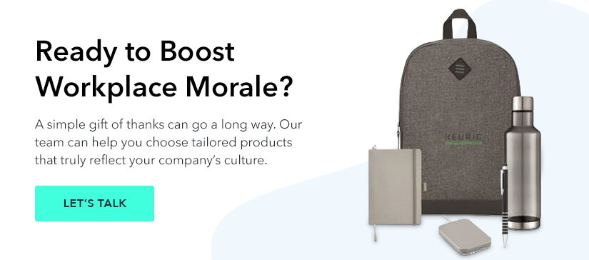 Gifts to Help Boost Workplace Morale