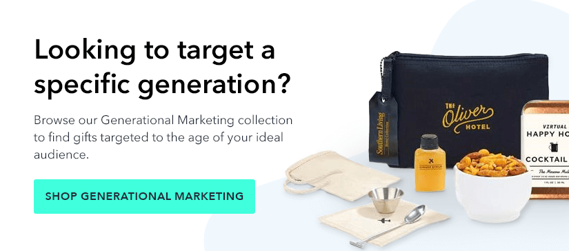 generational marketing with promotional products