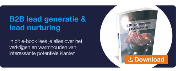 Heuvel Marketing e-book B2B lead generatie & lead nurturing