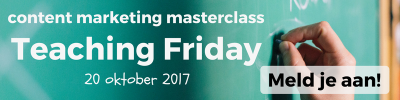 Content Marketing Masterclass Teaching Friday