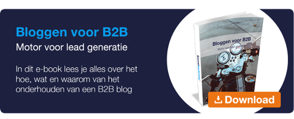 Heuvel Marketing e-book Bloggen voor B2B